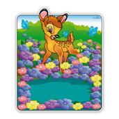 Bambi tussen de bloemen geboorteborden