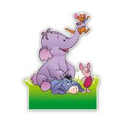 Geboorteborden vriendjes van pooh