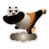 Geboorteborden Po uit Kung Fu Panda