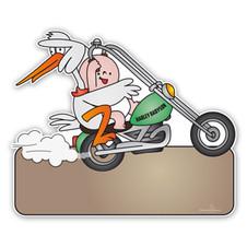 Geboorteborden Harley Davidson Babyson