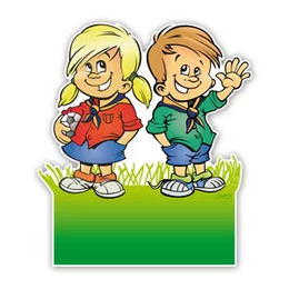 Geboorteborden scouting jongen en meisje tweeling