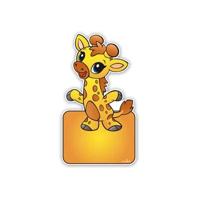 geboorteborden baby giraffe