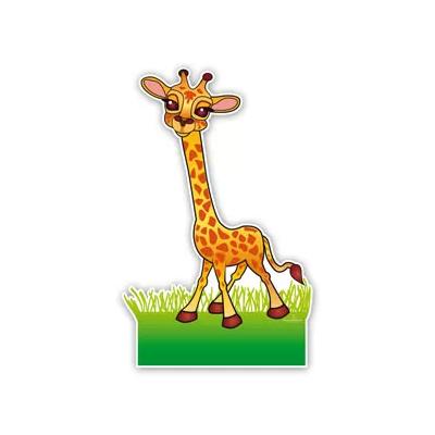 geboortebord lieve giraffe